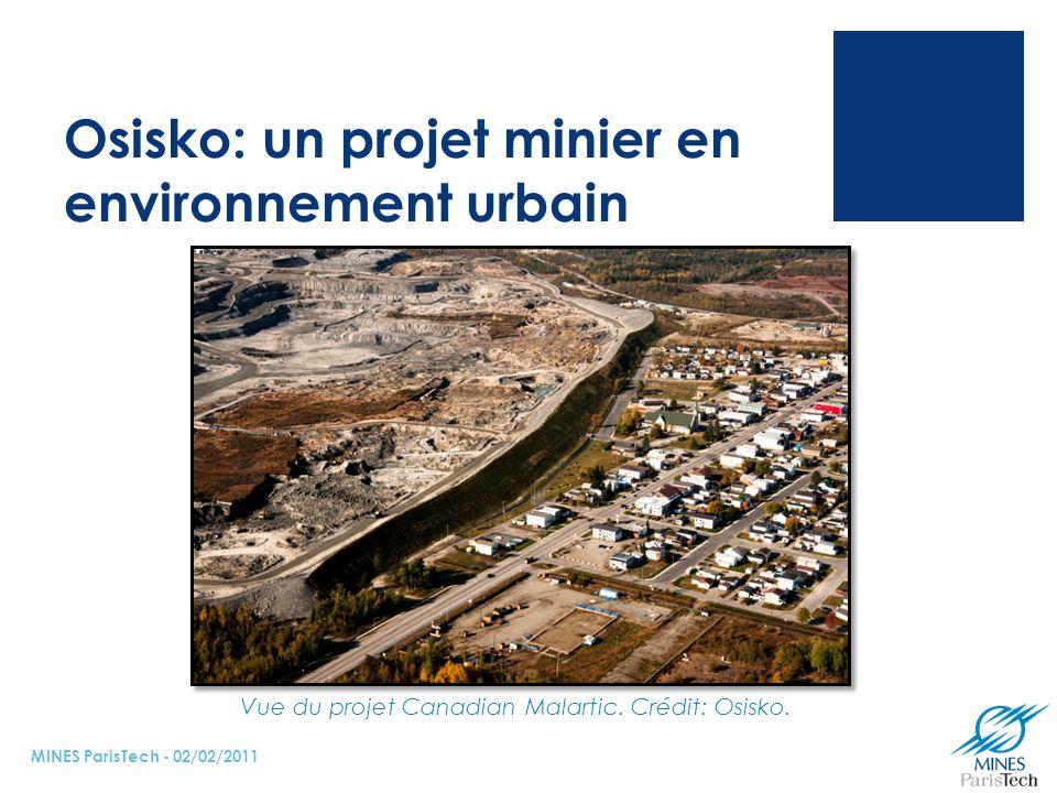 Osisko: un projet minier en environnement urbain