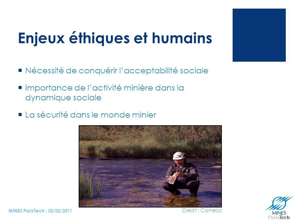 Enjeux éthiques et humains