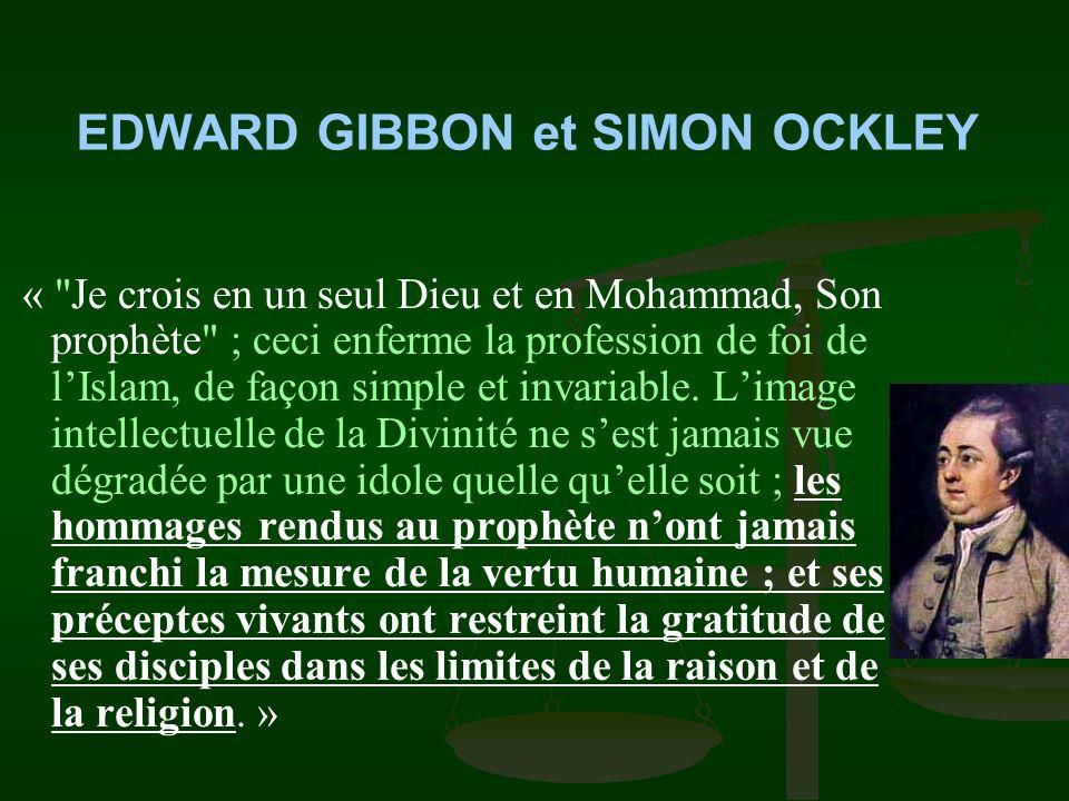EDWARD GIBBON et SIMON OCKLEY