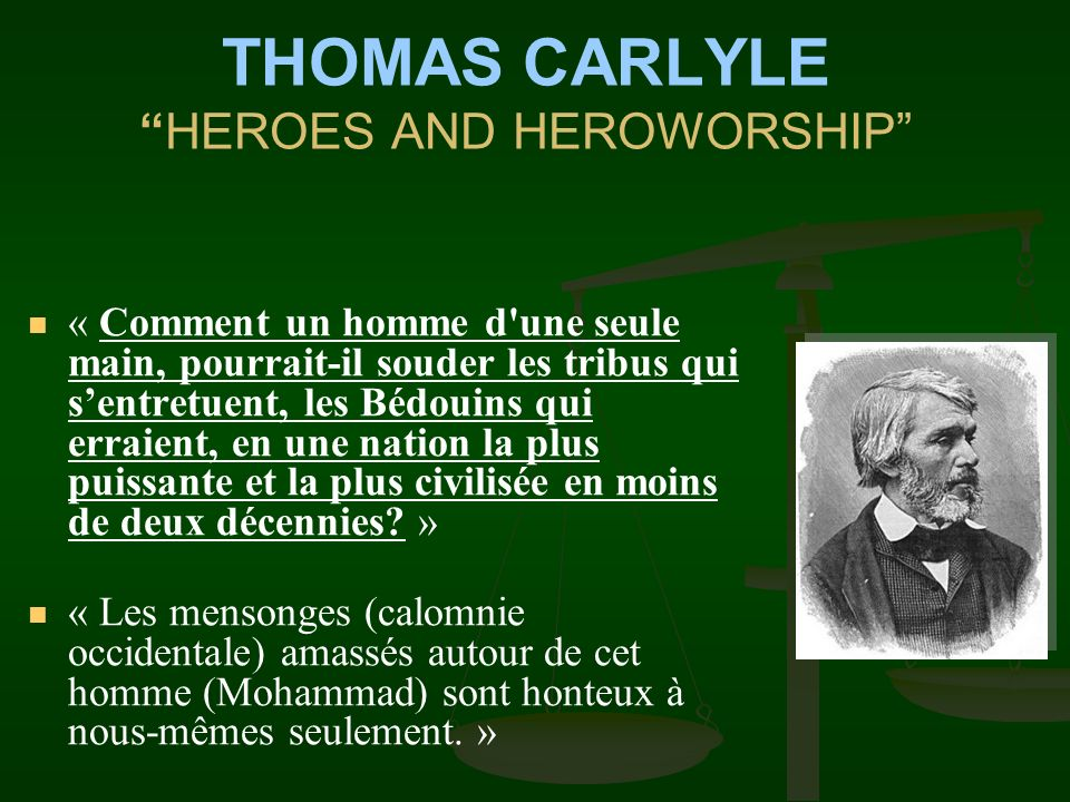 THOMAS CARLYLE HEROES AND HEROWORSHIP