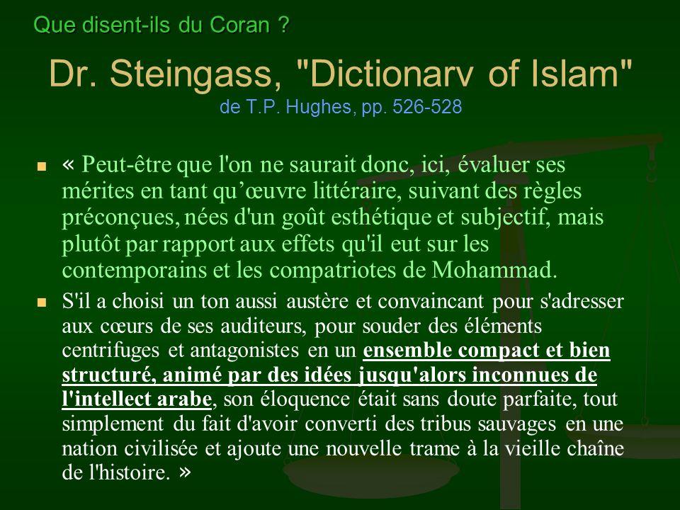 Dr. Steingass, Dictionarv of Islam de T.P. Hughes, pp. 526-528