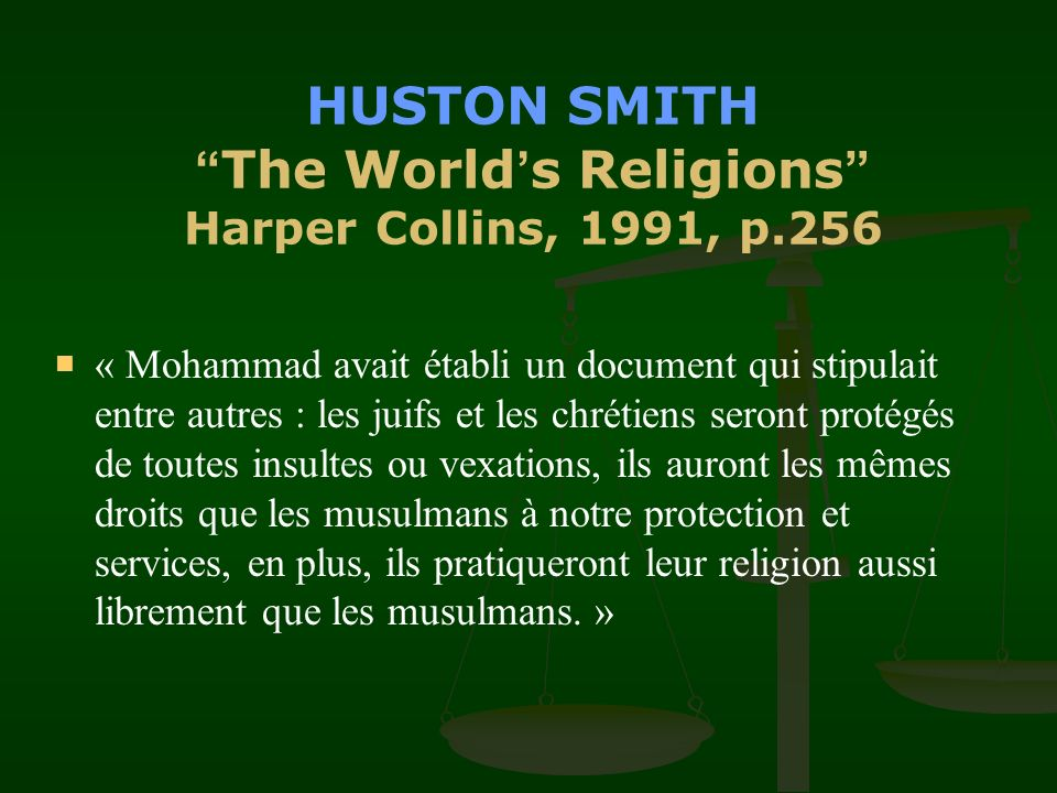 HUSTON SMITH The World's Religions Harper Collins, 1991, p.256
