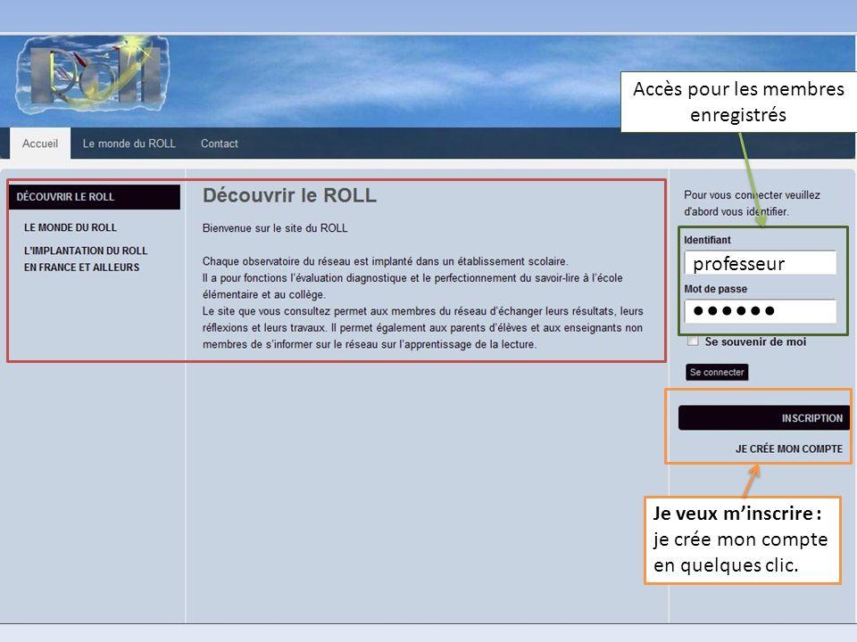 ...... Partie publique du site : Le Monde du ROLL