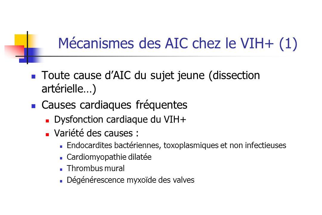 Mécanismes des AIC chez le VIH+ (1)