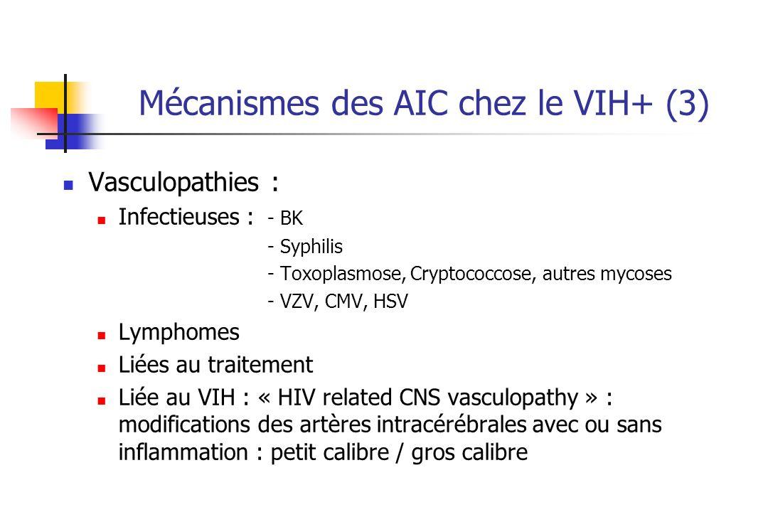 Mécanismes des AIC chez le VIH+ (3)