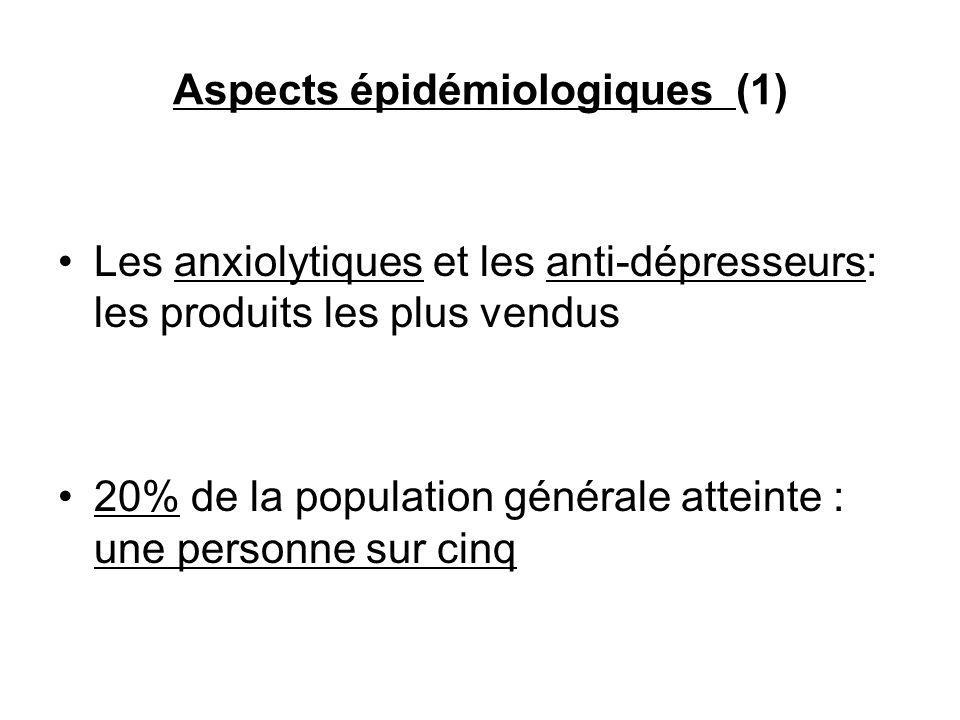 Aspects épidémiologiques (1)