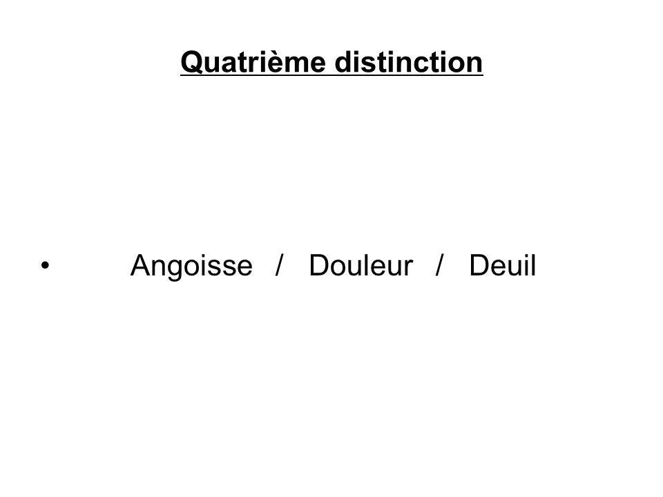 Quatrième distinction