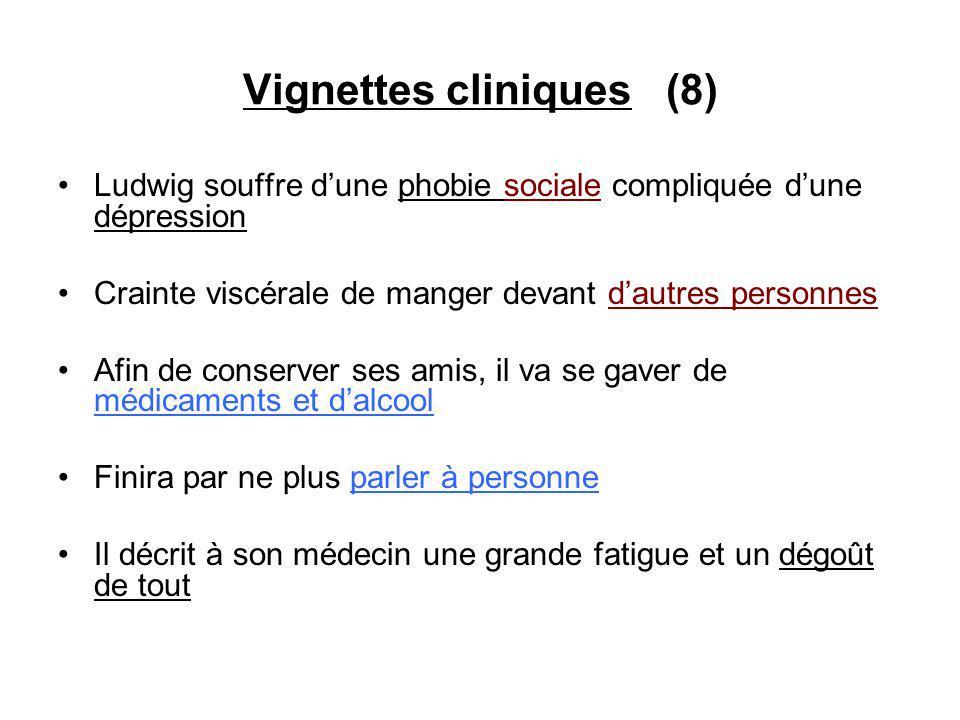 Vignettes cliniques (8)
