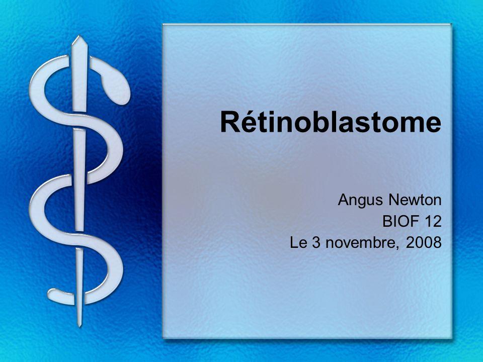 Angus Newton BIOF 12 Le 3 novembre, 2008