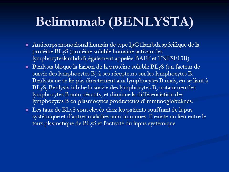 Belimumab (BENLYSTA)