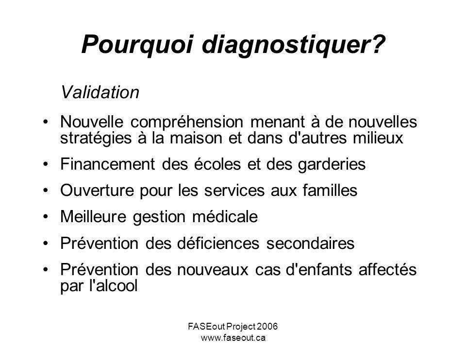 Pourquoi diagnostiquer