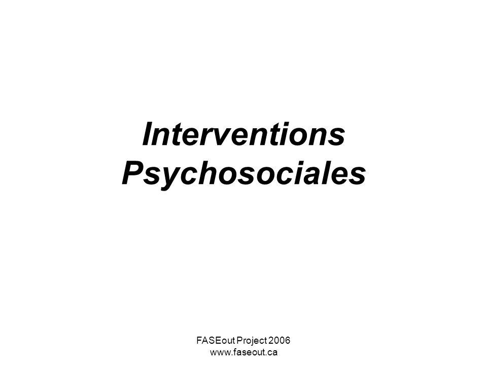Interventions Psychosociales