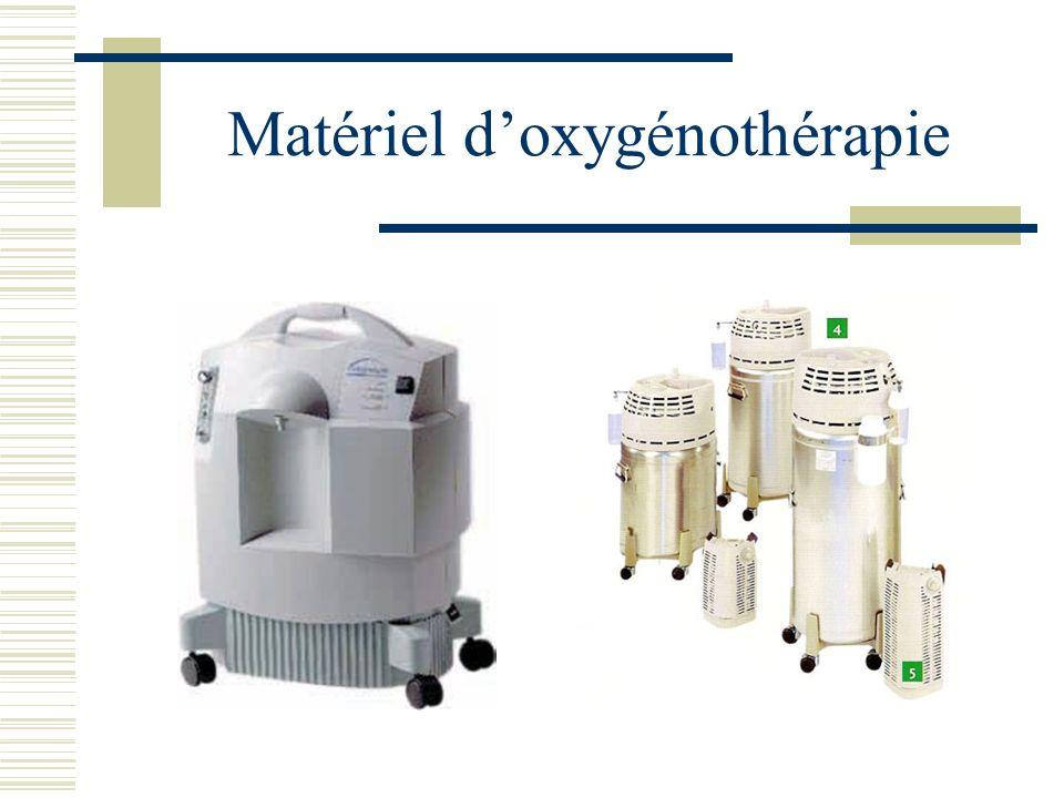 Matériel d'oxygénothérapie