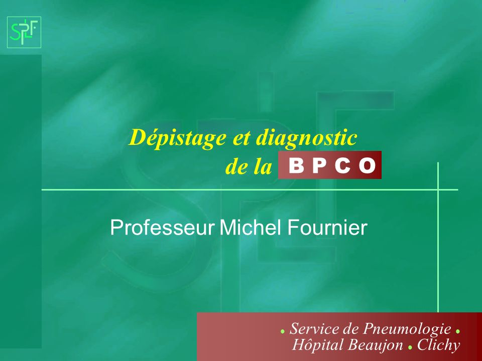 Professeur Michel Fournier
