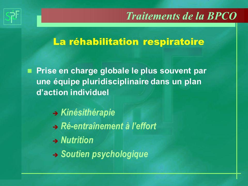 La réhabilitation respiratoire