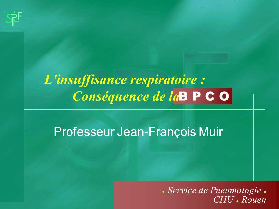 Professeur Jean-François Muir