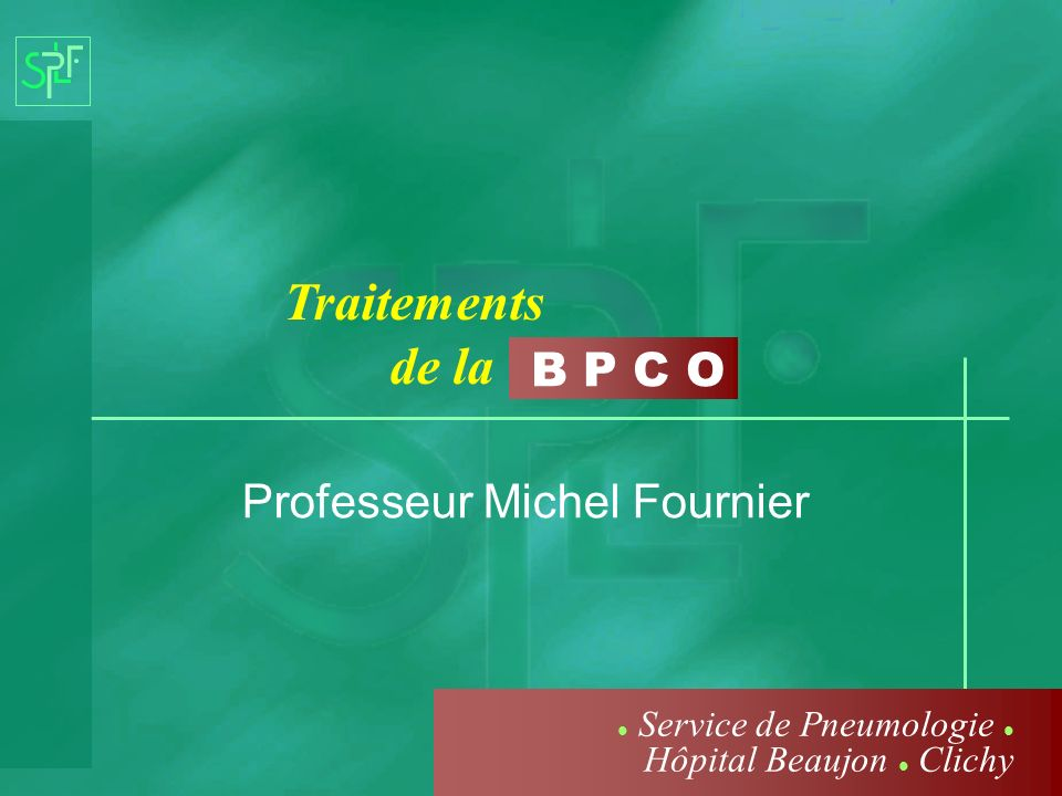 Professeur Michel Fournier