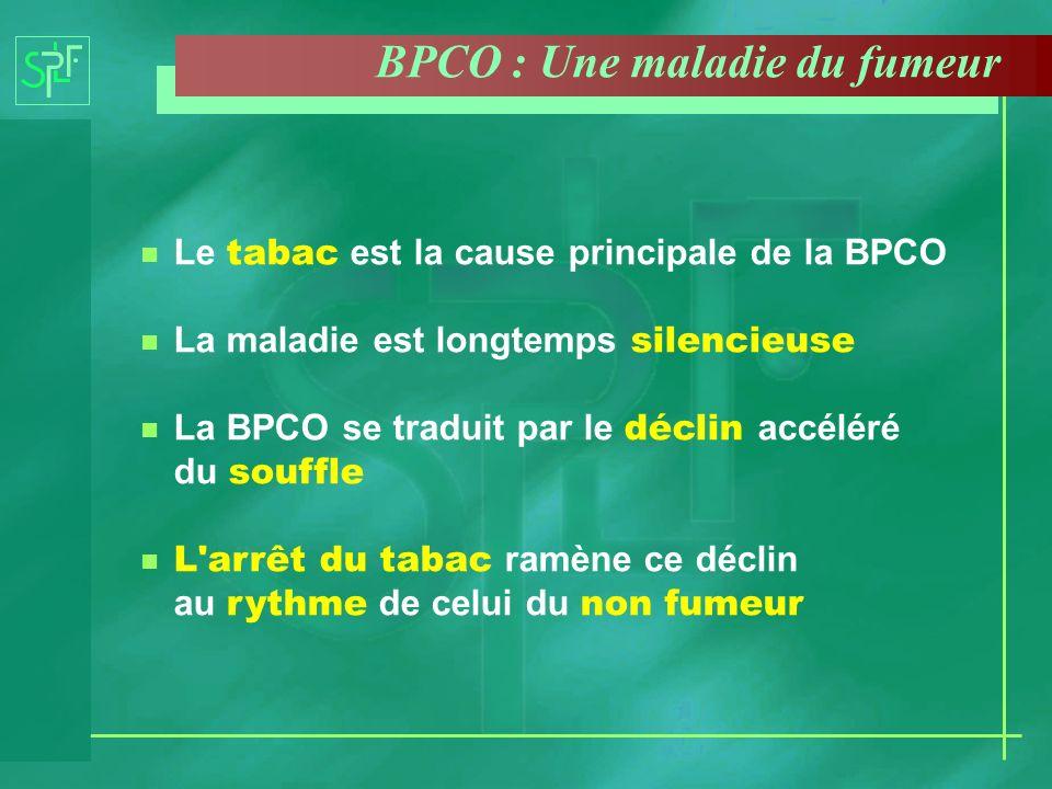 BPCO : Une maladie du fumeur