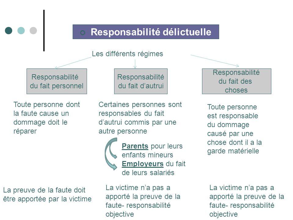 Responsabilité délictuelle