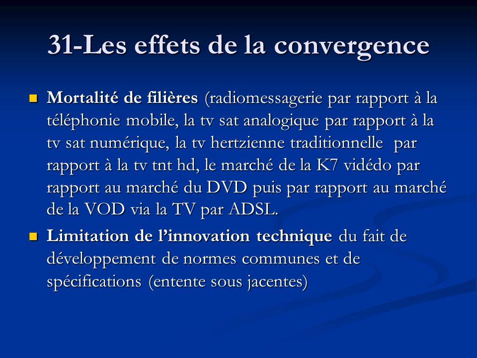 31-Les effets de la convergence