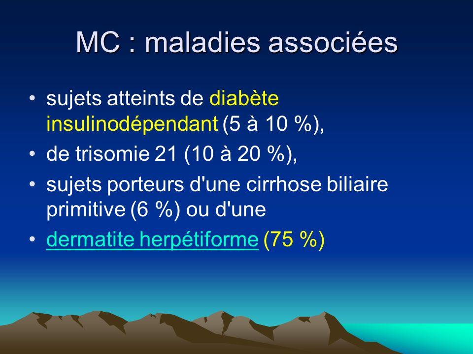 MC : maladies associées