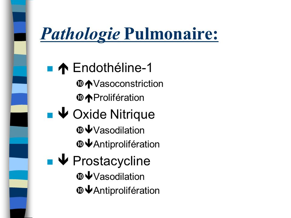 Pathologie Pulmonaire: