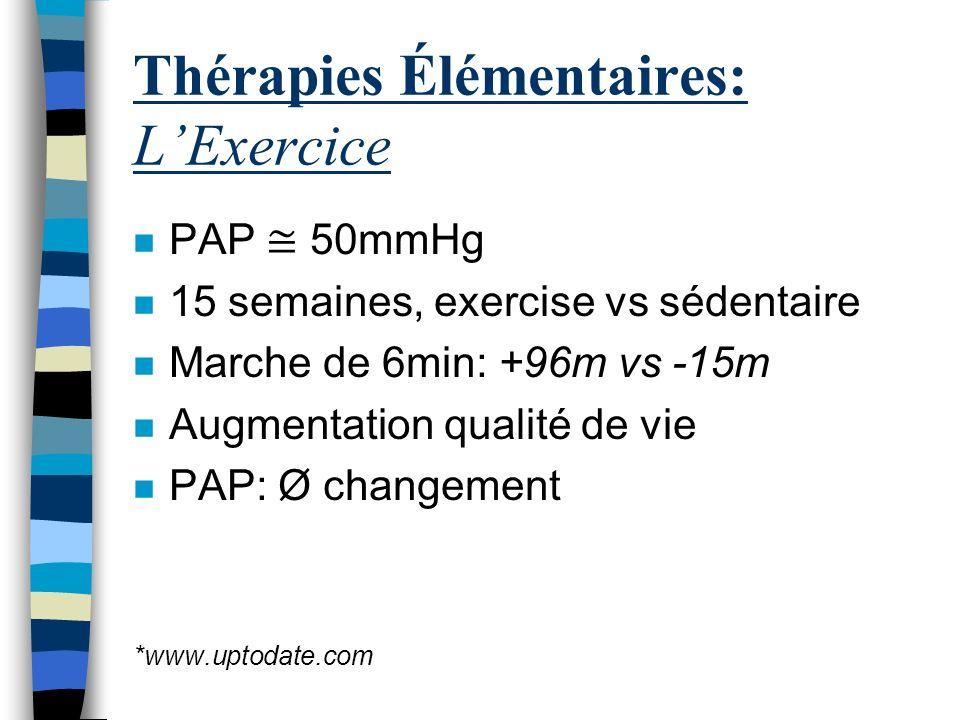 Thérapies Élémentaires: L'Exercice