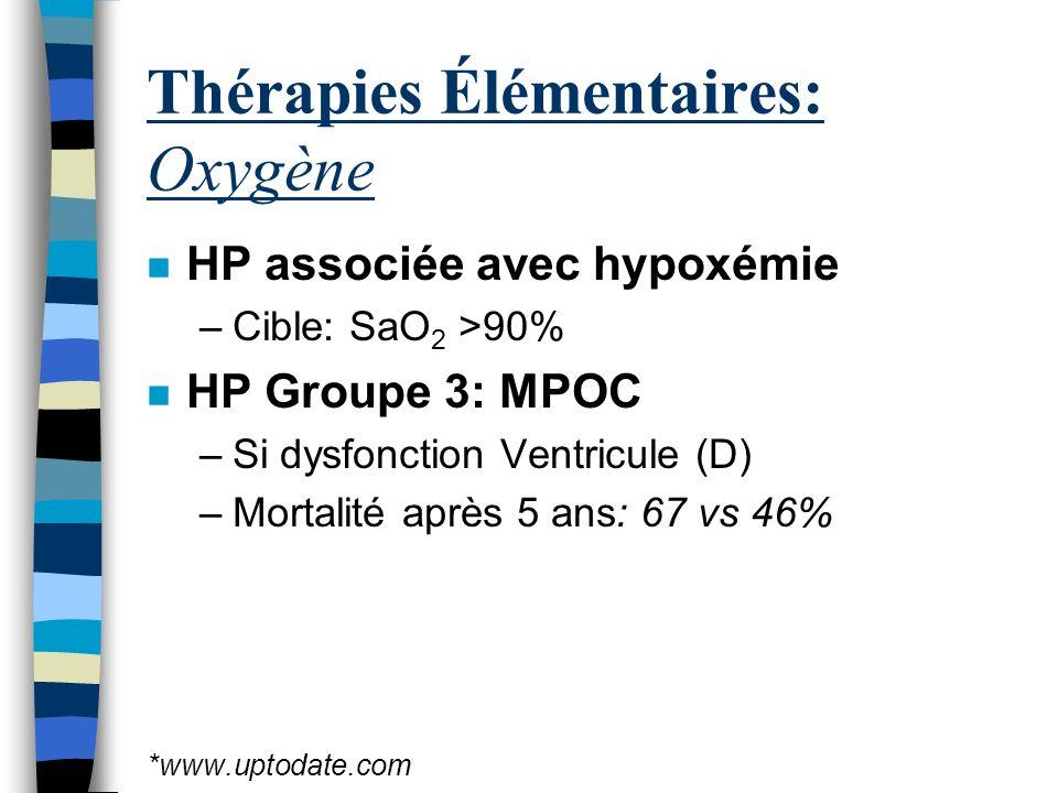 Thérapies Élémentaires: Oxygène