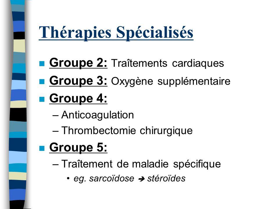 Thérapies Spécialisés