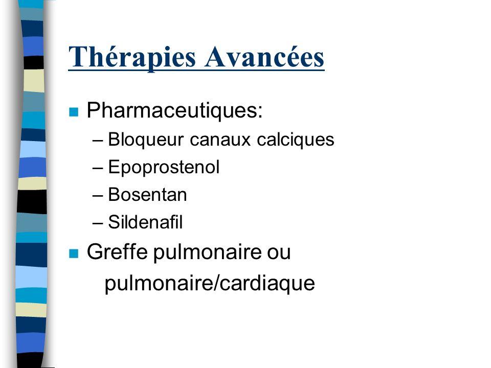 Thérapies Avancées Pharmaceutiques: Greffe pulmonaire ou