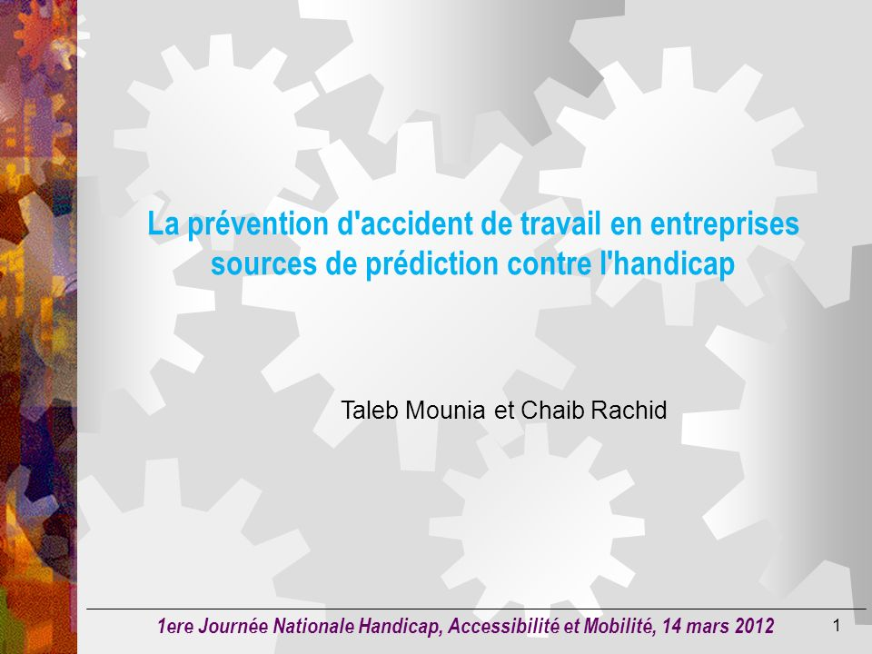 Taleb Mounia et Chaib Rachid
