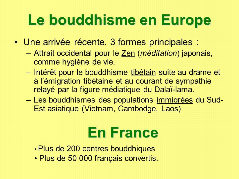 Le bouddhisme en Europe