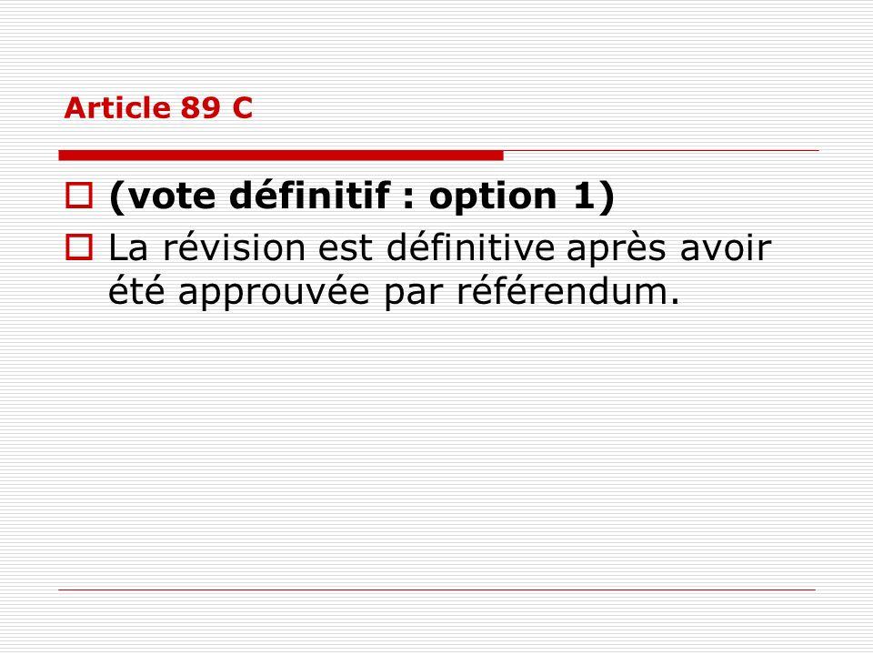 (vote définitif : option 1)