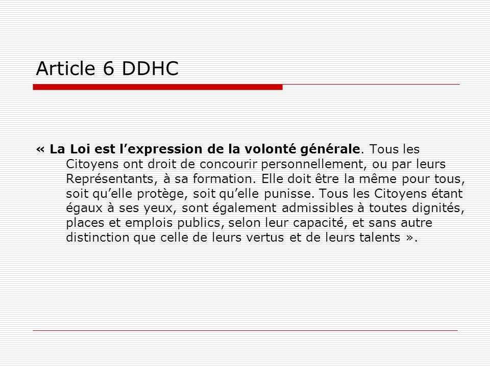 Article 6 DDHC