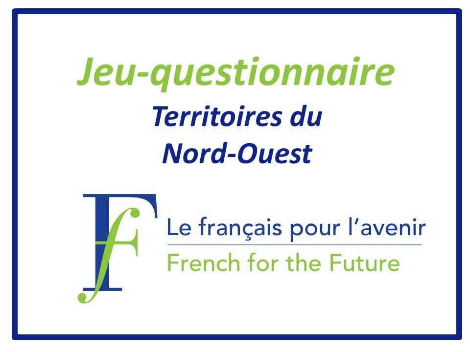 Jeu-questionnaire Territoires du Nord-Ouest