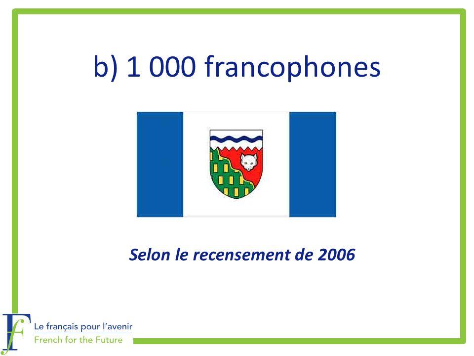 Selon le recensement de 2006