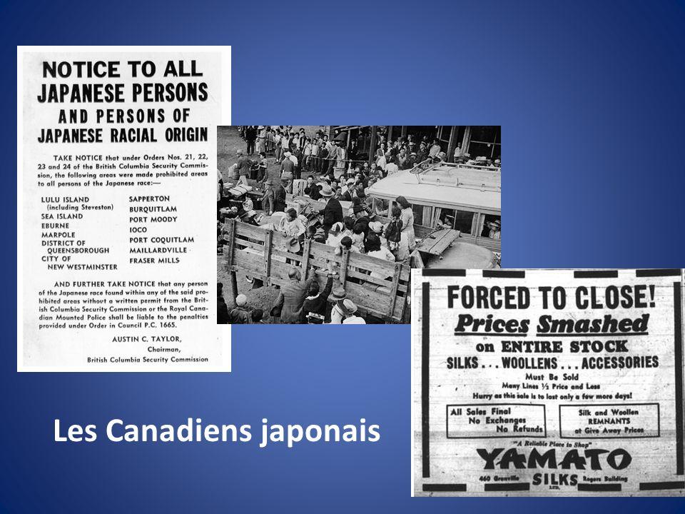 Les Canadiens japonais