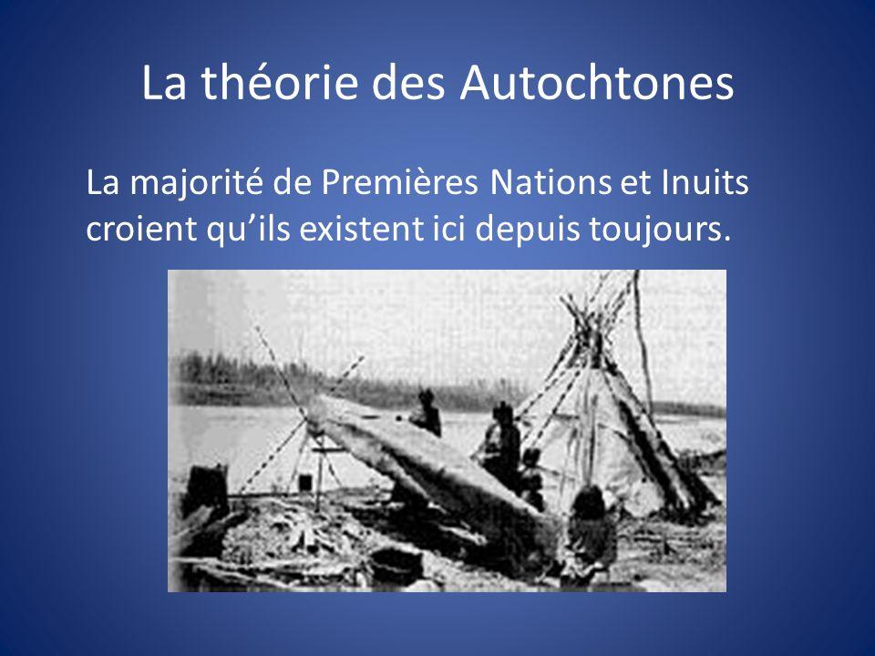 La théorie des Autochtones