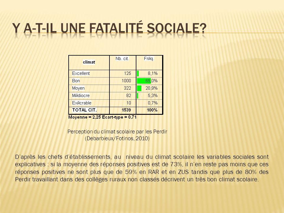 Y a-t-il une fatalité sociale