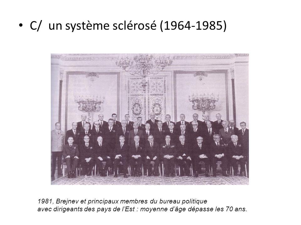 C/ un système sclérosé (1964-1985)