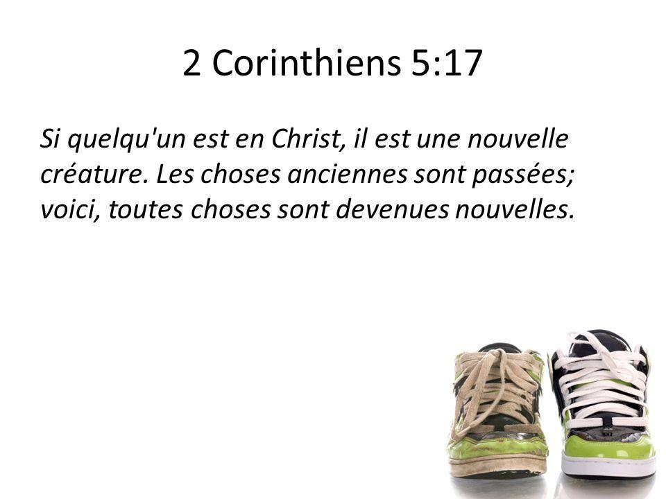 2 Corinthiens 5:17