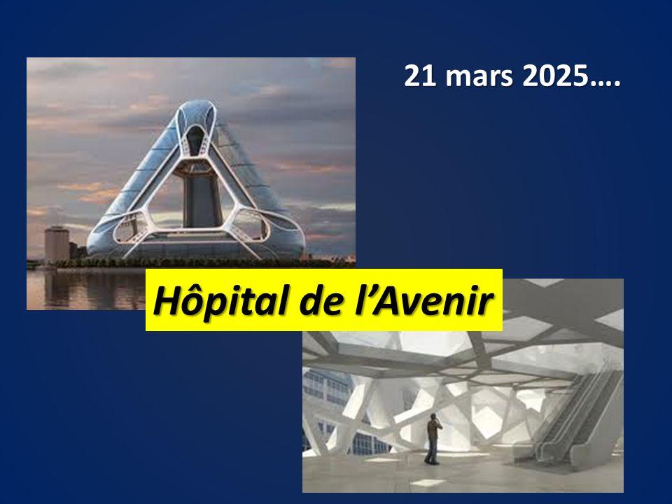 21 mars 2025…. Hôpital de l'Avenir