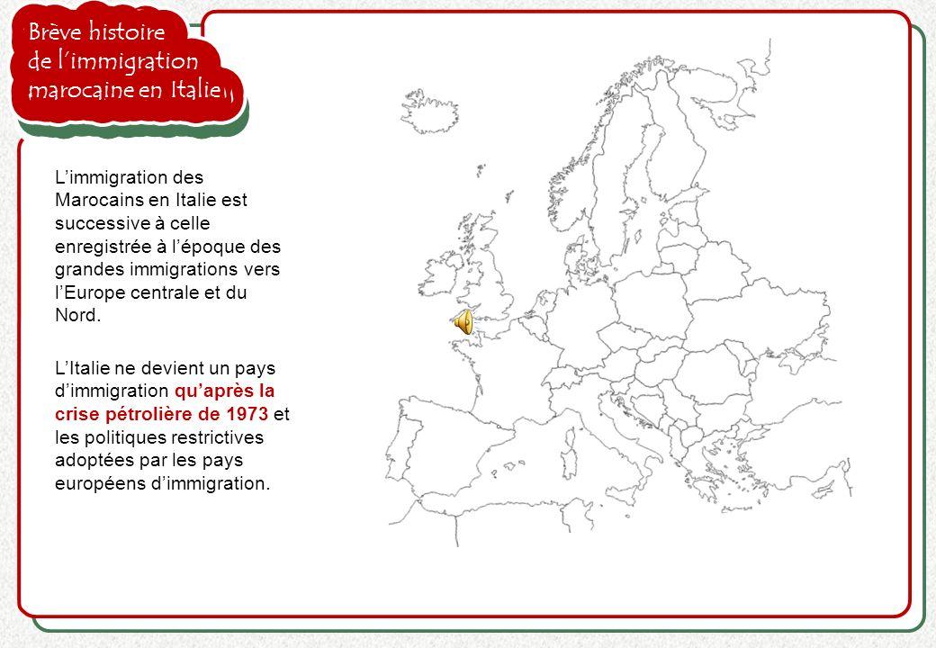 Brève histoire de l'immigration marocaine en Italie