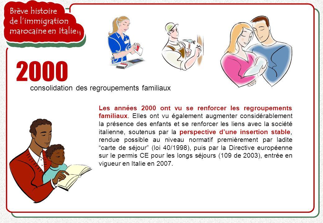 2000 Brève histoire de l'immigration marocaine en Italie