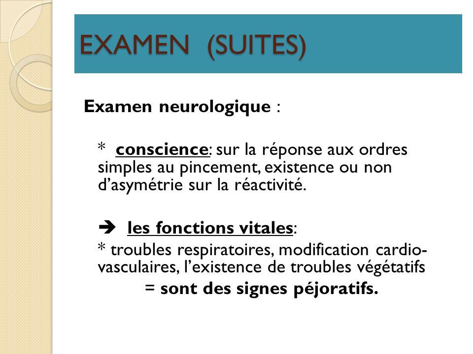 EXAMEN (SUITES)