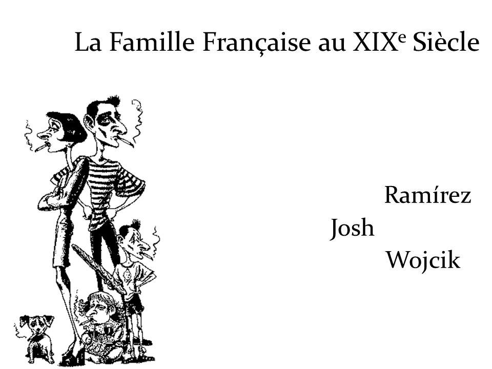 La Famille Française au XIXe Siècle