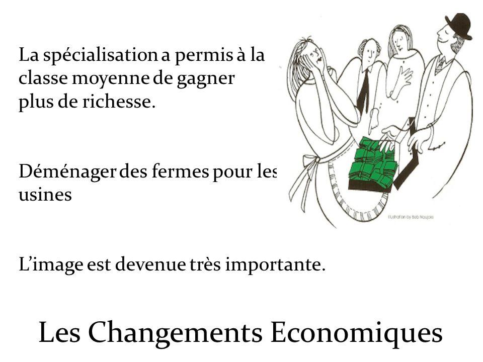 Les Changements Economiques