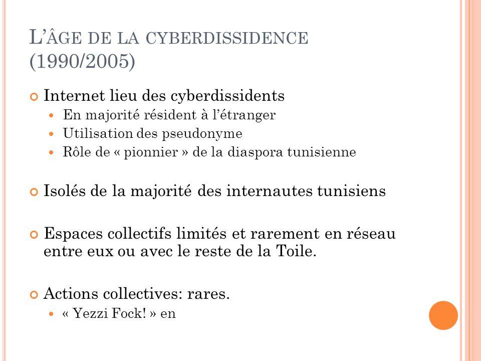 L'âge de la cyberdissidence (1990/2005)
