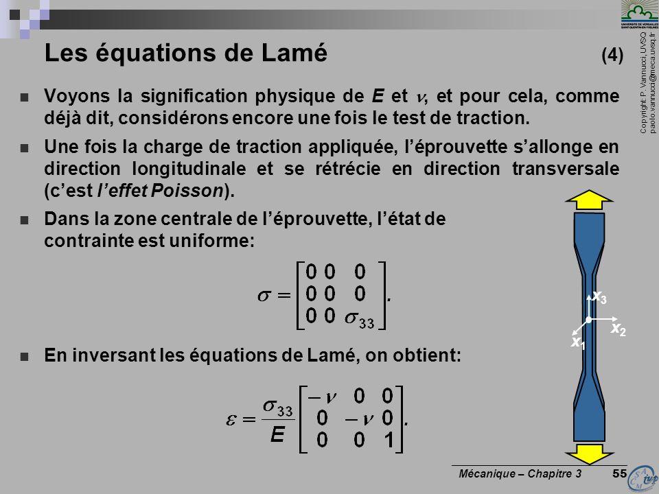 Les équations de Lamé (4)