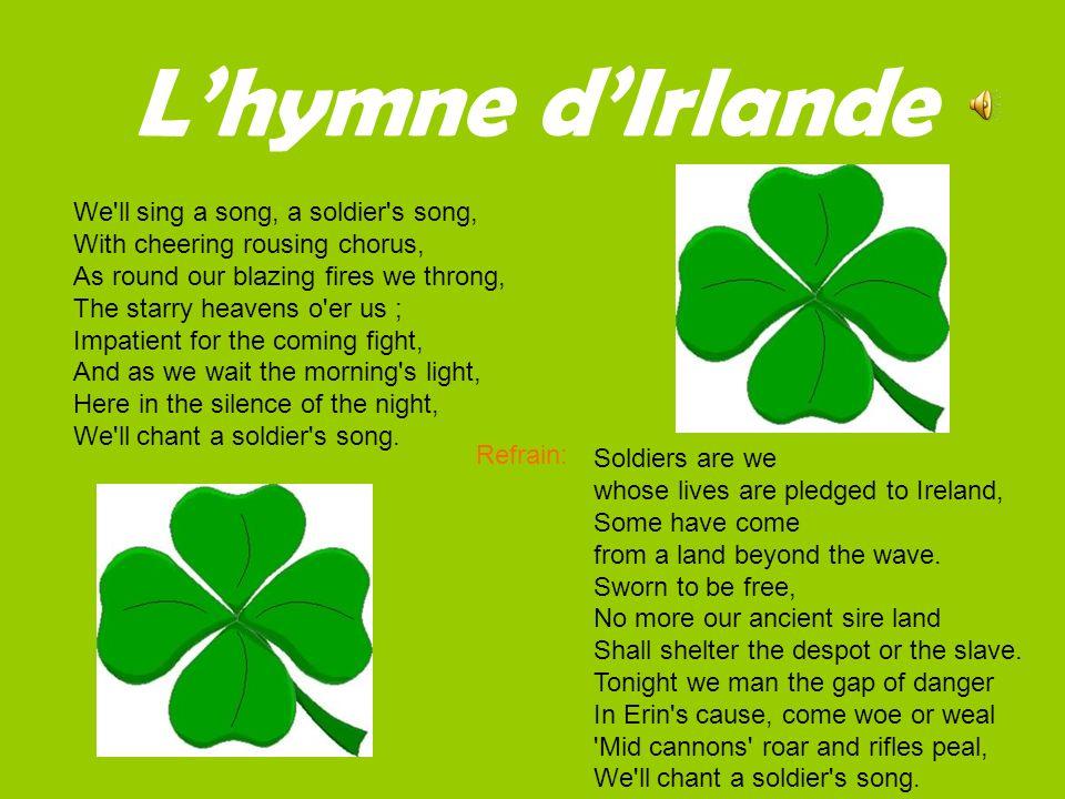 L'hymne d'Irlande